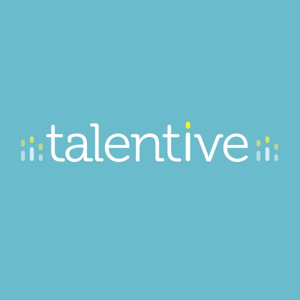 Talentive logo.