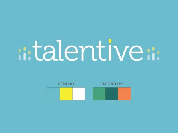 Talentive colour palette.